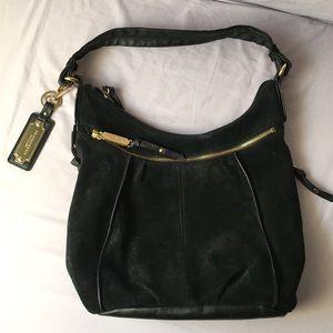 Tignanello black leather purse.